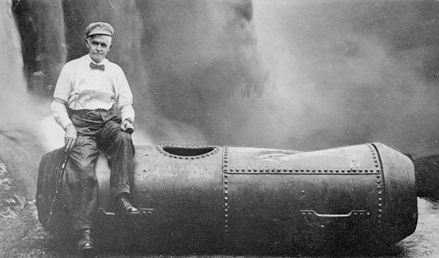 Bobby-Leach-all-steel-barrell-Niagara-Falls